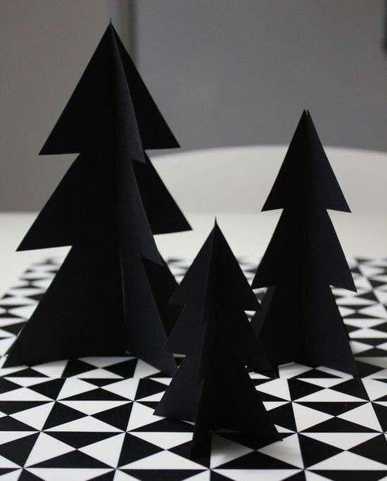 Alberi di Natale neri (Foto 4/40)   Stylosophy