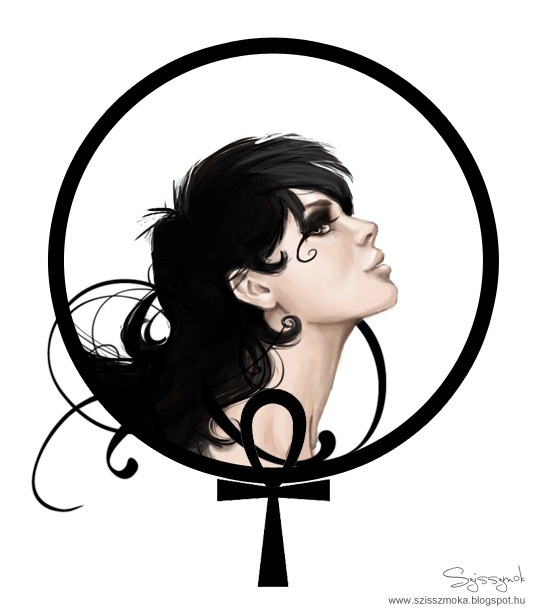 """Death  """"How would you feel about life if Death was your older sister?""""  Sandman"""