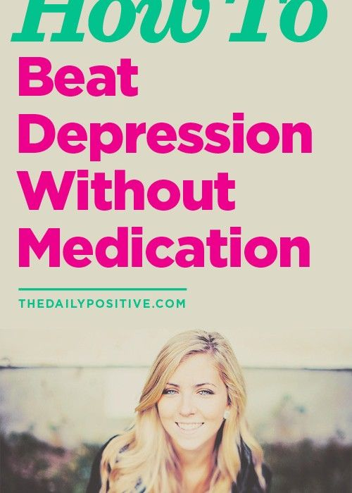 How To Beat Depression Without Medication: Great visual poster about exercise in this blog post.