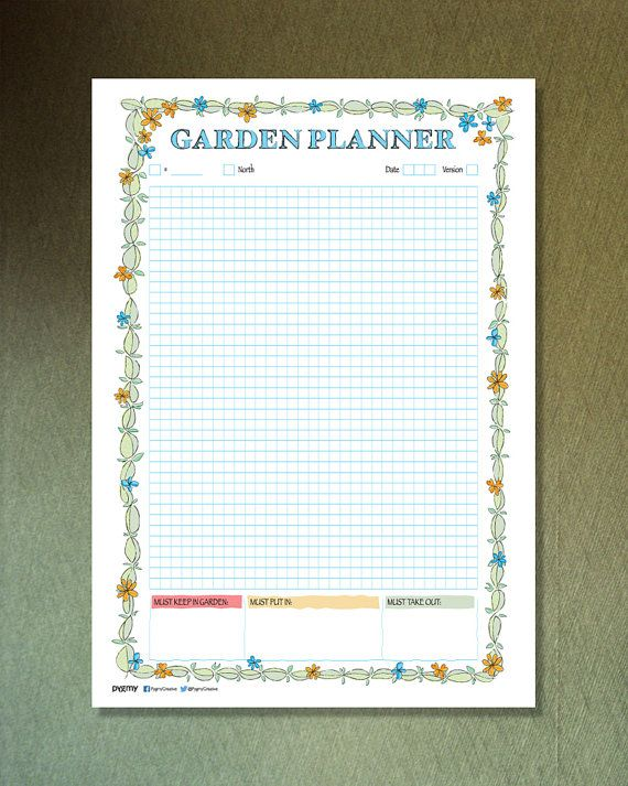 17 Best images about Garden planner on Pinterest Gardens