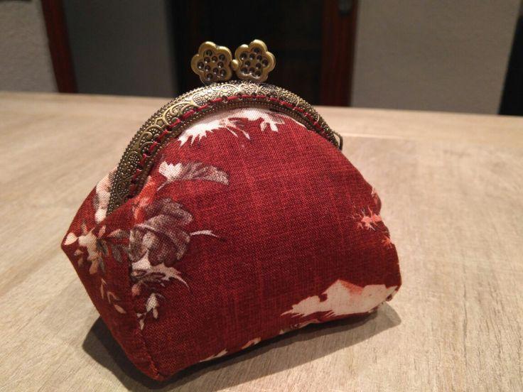 Monedero con boquilla flores #purse #handmade #monedero #boquilla #hechoamano #regalo #present #diy