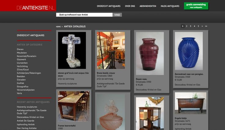 Website deAntieksite.nl: http://www.deantieksite.nl