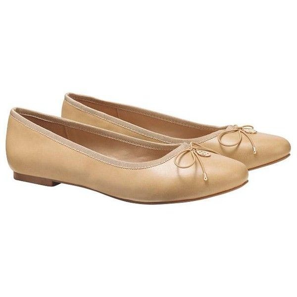 Cushion Walk Neutral Ballet Flats by AVON (80 PEN) ❤ liked on Polyvore featuring shoes, flats, ballerina pumps, ballerina flat shoes, ballet shoes, ballet pumps and skimmer flats