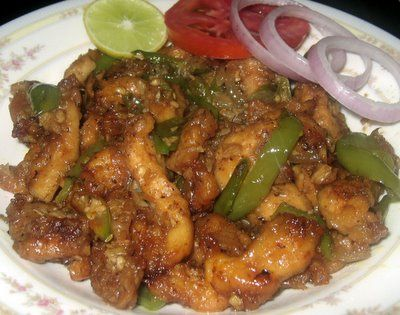 My Dhaba: Chilly chicken
