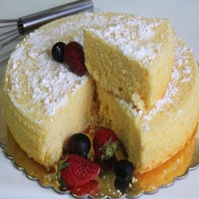 Delicious American Sponge Cake Recipe & MORE from other countries for National Sponge Cake Day