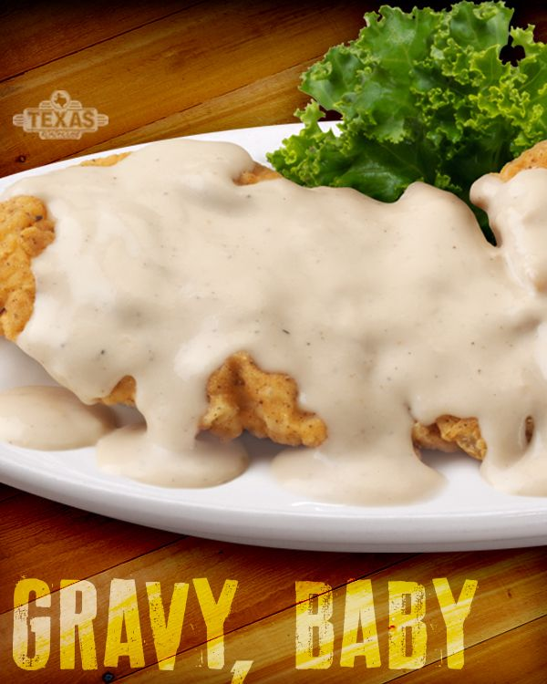 Made-from-scratch cream gravy at home.#MomLovesRoadhouse