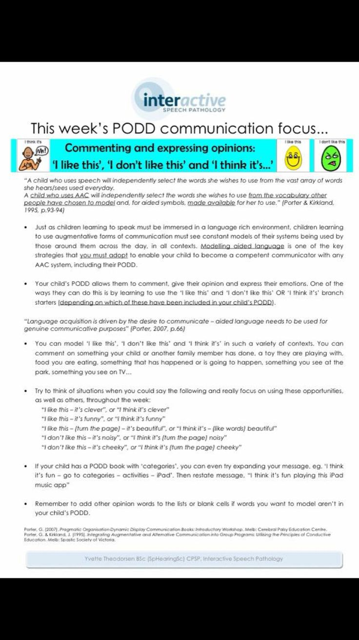 87 best podd images on pinterest speech language therapy here are some nice suggestions for modeling commenting and expressing opinions with podd shared by interactive biocorpaavc Choice Image