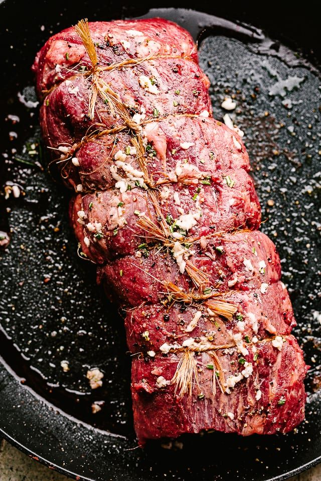 Roasted Beef Tenderloin – Easy, no-fuss recipe for the juiciest Roasted Beef Ten…   – Food and Drink