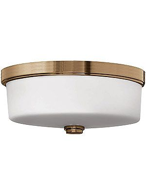 Lanza flush mount ceiling light with etched opal glass shades bar lightinghouse lightingvintage