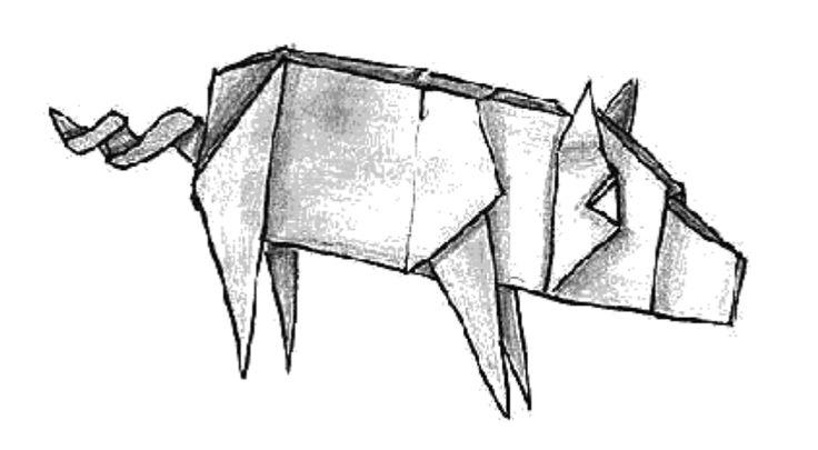 82 besten origami bilder auf pinterest origami papier