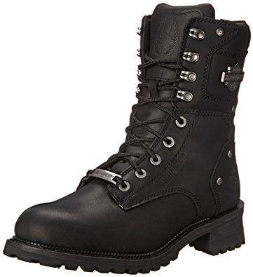 Amazon.com: Harley-Davidson Men's Elson Motorcycle Logger Boot: Harley-Davidson: Shoes
