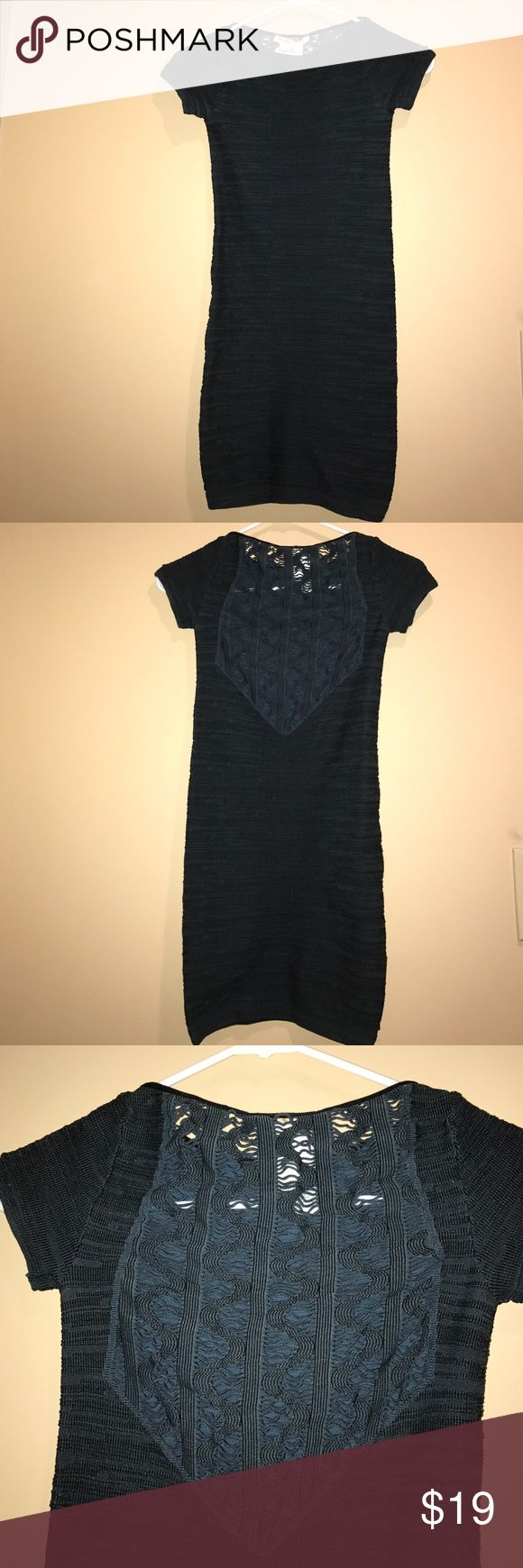 BCBGeneration Navy Stretch Dress This BCCGeneration navy mini dress is sexy and fitted. Stretchy material is very comfortable. Probably worn twice. Perfect condition. BCBGeneration Dresses Mini