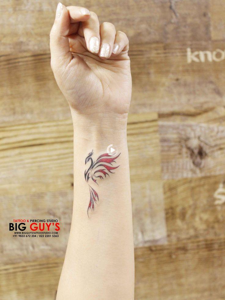 Phoenix tatuaje pequeño in 2020 Wrist tattoos for guys