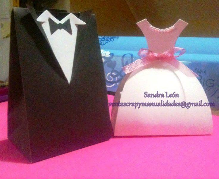 Cajas Sizzix Souvenir matrimonio