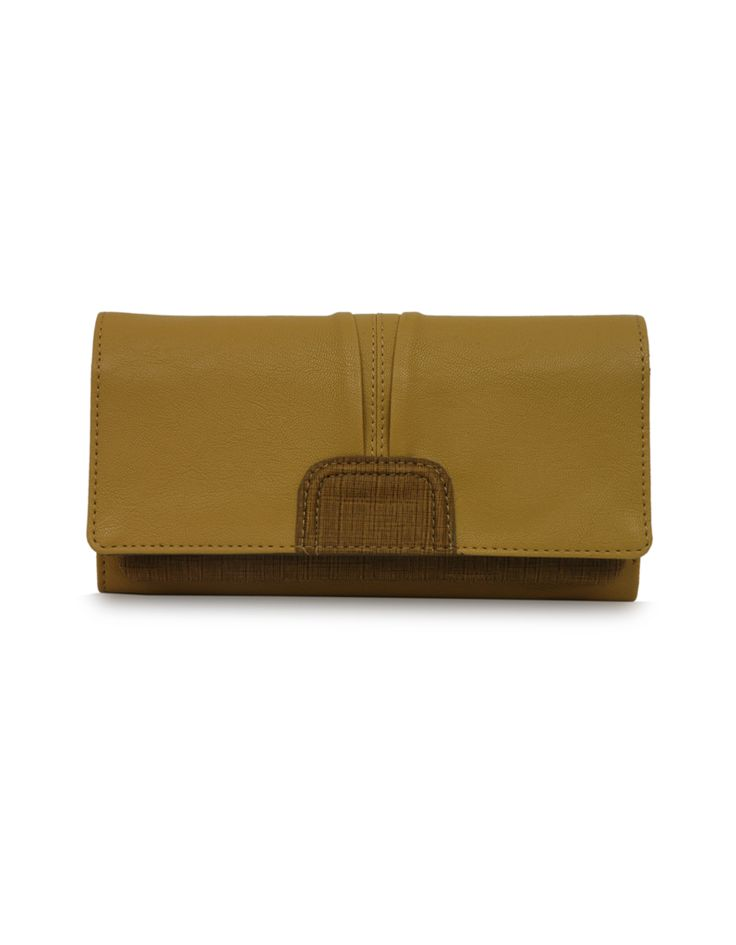 W Zonal Chawkdi Mud yellow - Rs. 925  Buy Now : www.baggit.com