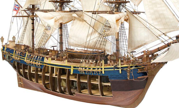 Fragata BOUNTY. Model ship. DIY.