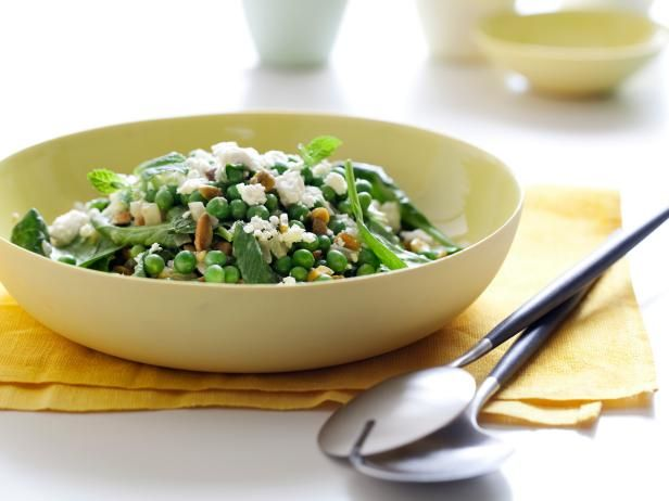 Get Pea, Feta and Mint Salad Recipe from Cooking Channel