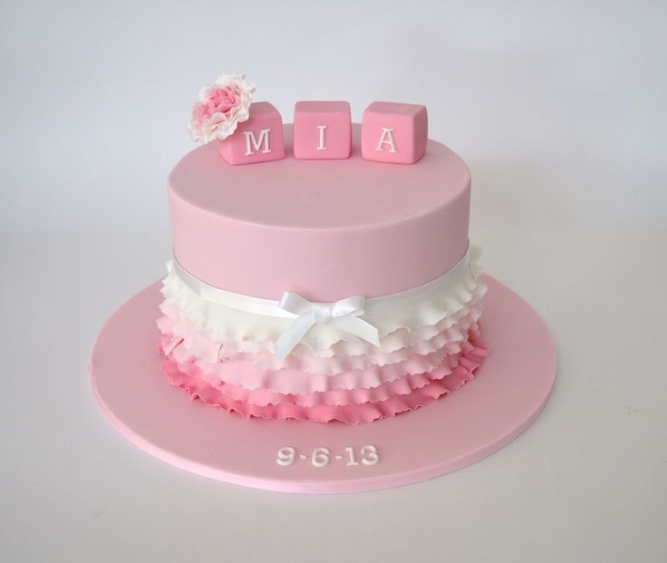 25+ best ideas about Girl baptism cakes on Pinterest ...