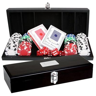 Promotional 100 Chip Executive Poker Set | Advertising Poker Sets | Customized Poker Sets