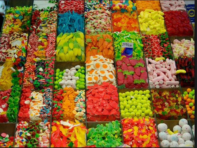 Looots of sweets