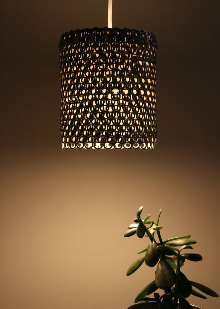 JOJO POST RECYCLE: We can make a Pendant Light made by soda can tabs. NNIICCEE.