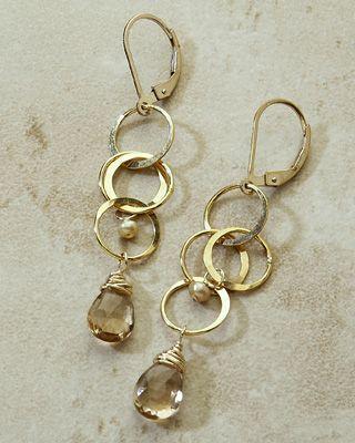 Freshie And Zero Handmade Jewelry Cartwheel Earrings Handmade