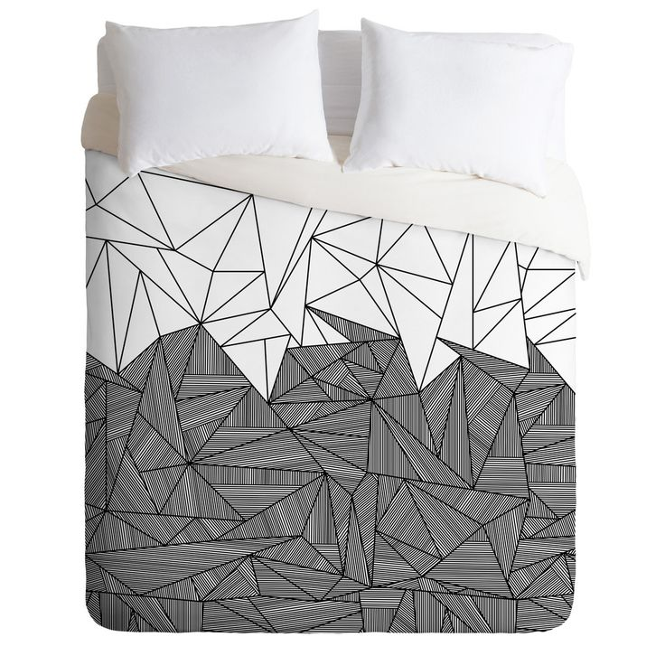 Black And White Bed In A Bag Double