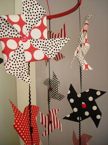 HOW TO - Make a Fabric Pinwheel