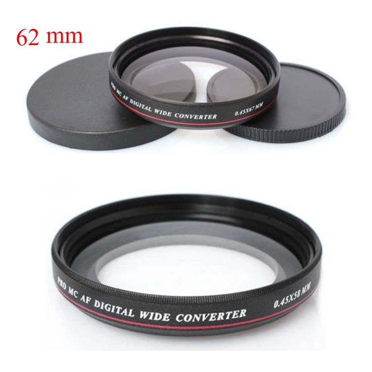>> Click to Buy << 2016 ZOMEI Ultra Slim UV72 62mm 0.45x Wide Angle Filter Lens for Nikon Canon SLR Camera #Affiliate