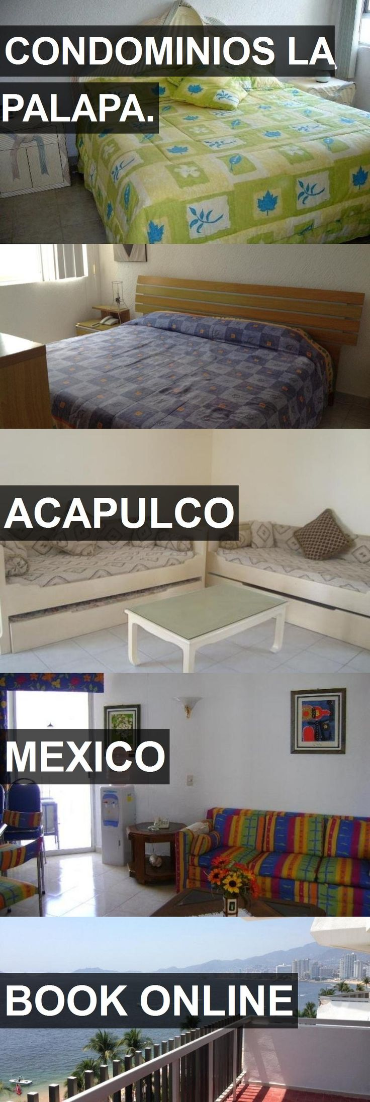 Hotel CONDOMINIOS LA PALAPA. in Acapulco, Mexico. For more information, photos, reviews and best prices please follow the link. #Mexico #Acapulco #travel #vacation #hotel