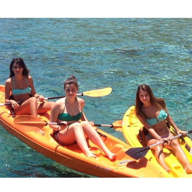 Canoe for our guests!! Photo credits: @konnager