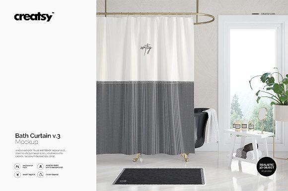 Curtain mockup free