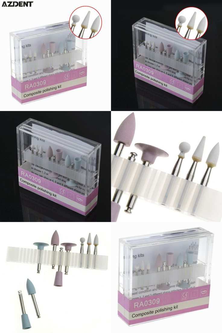 [Visit to Buy] Dental Composite Polishing For Low-Speed Handpiece Contra Angle Kit RA0309 Oral Hygiene Teeth Polishing Kits #Advertisement