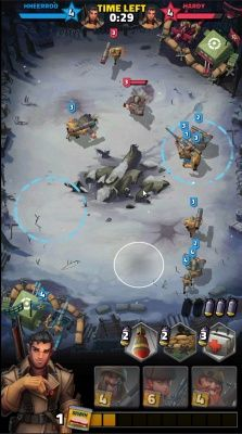 Medals of War is a Free Android Mobile, Real Time Strategy Multiplayer Game featuring tactical WW2 Fantasy battles where you can control the actions of each of your squads
