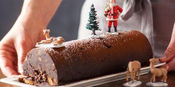 La bûche en 15 minutes chrono ! ... on essaiera pour Noël prochain !!!