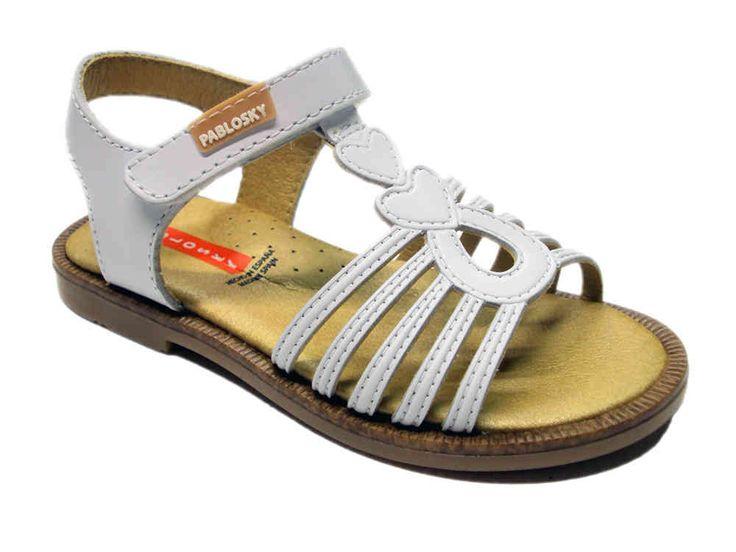 Sandalia de #niña de #Pablosky. Moda en #calzadoinfantil