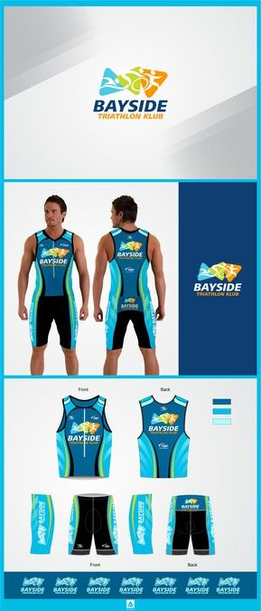 New Logo and clothing designs for Bayside Triathlon Club by Mafiart ✌