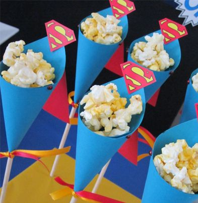 Superman themed party!