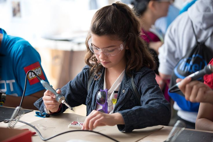 These exhibits will be at the 10th annual Maker Faire Bay Area. Get your tickets today! Girls in STEM fields, whether they are students, hobbyists, or prof
