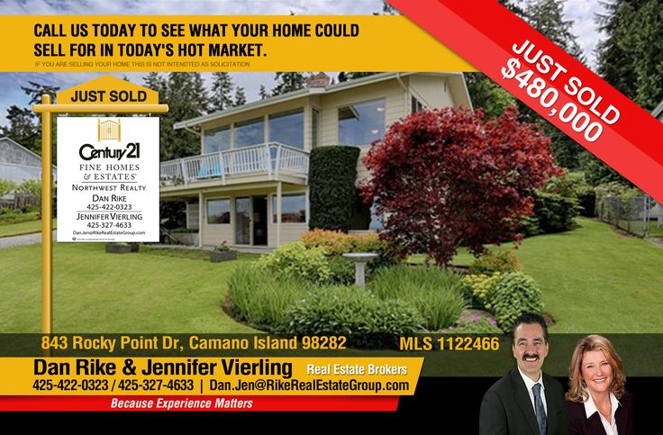 Now #SOLD  Congrats to Dan Rike & Jennifer Vierling for job well Done on this Meticulously maintained 3 bedrooms, an office & 1.75 bath in  amazing NW views of Saratoga Passage. Cheers also to the new owners!  MLS # 1122466