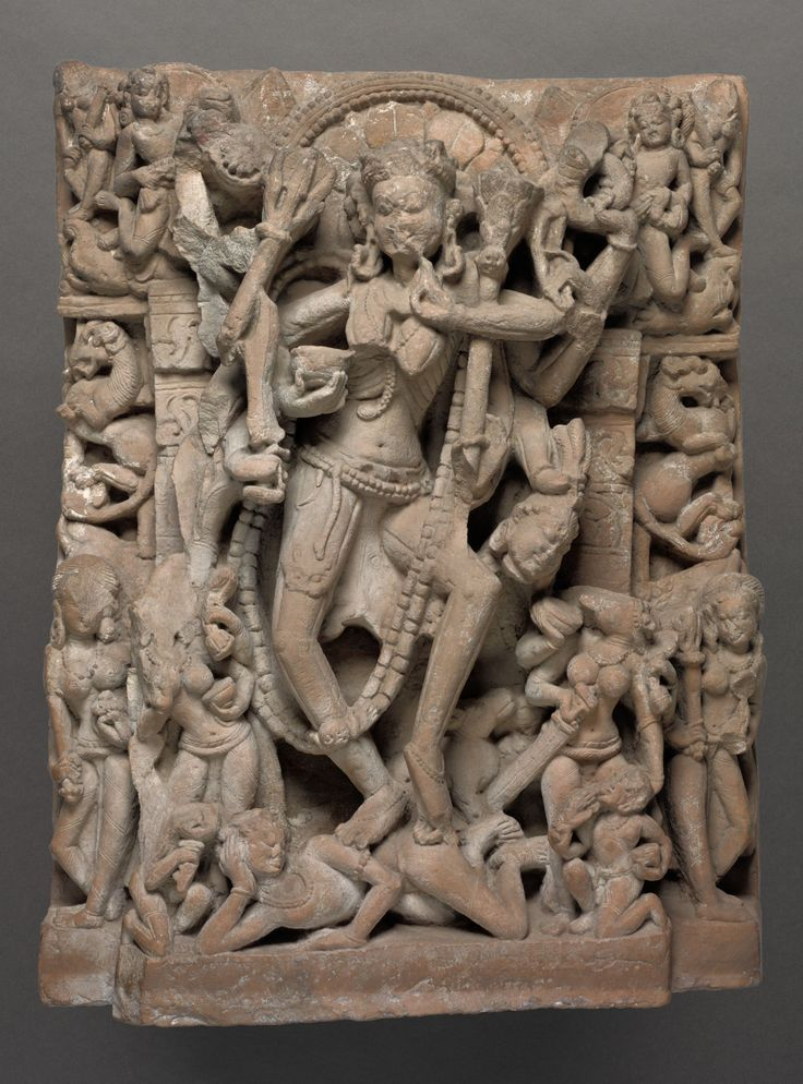 Architectural Relief With Chamunda       Object Number         1974.64     Title         Architectural Relief with Chamunda     Classification         Sculpture     Work Type         relief, sculpture      Date         Chandela period, 10th-11th century     Places         Creation Place: South Asia, India, Northern India      Culture         Indian