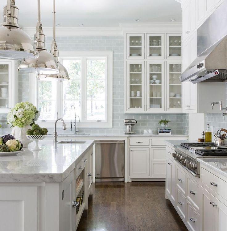 Kitchen Remodel Katy Tx: 17 Best White Cabinets & Dark Island Kitchen Images On