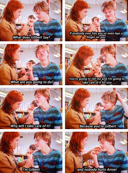 What's Eating Gilbert Grape...one of my most favorite movies ever :)