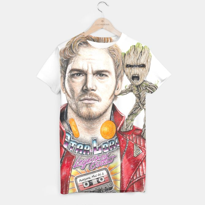 Star-Lord & Baby Groot