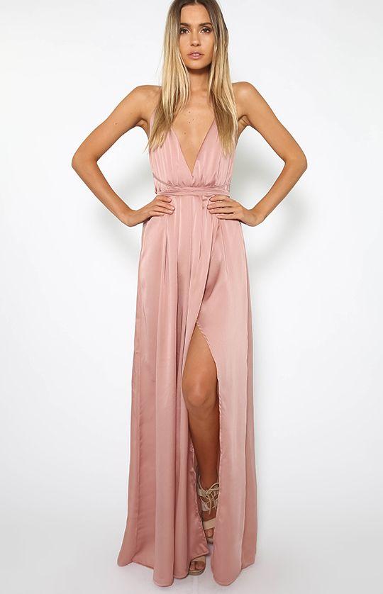 Lancaster Dress - Mauve || pinterest + insta: @kylenehashimoto