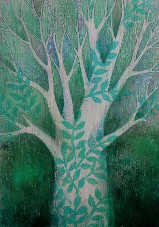 Il ritorno della primavera by akausachan #tree #art