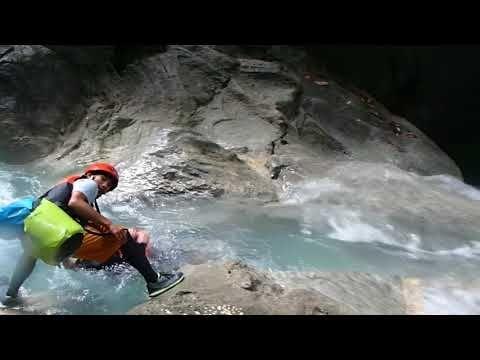 Canyoneering  at Kawasan Falls Moalboal
