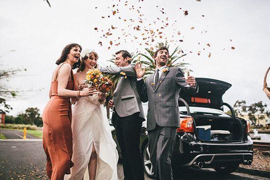 Footscray autumn wedding - Polka Dot Bride