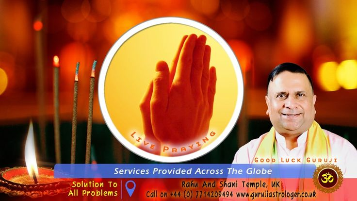 Good Luck Guruji Astrologer And Mantras Specialist Live Praying On Faceb...