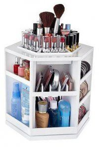 Best Makeup Beauty Storage Ideas Images On Pinterest - Cosmetic organizer countertop